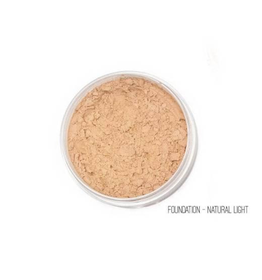 Mineral 5in1 Foundation & Μεγάλο Πινέλο Kabuki Ανοιχτή απόχρωση
